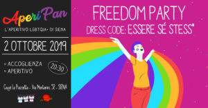 Aperipan | Freedom Party Dress code: essere sé stess*